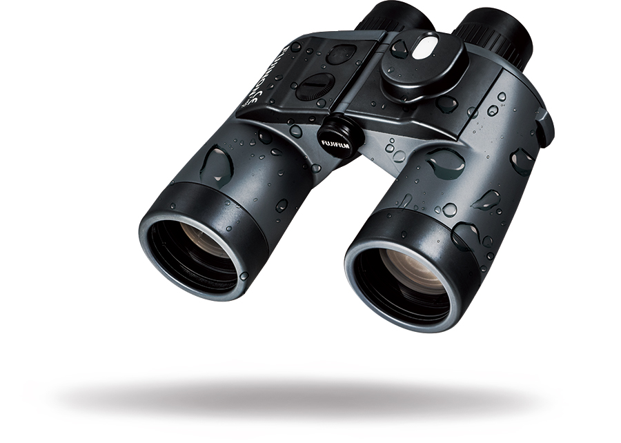 Mariner black binocular