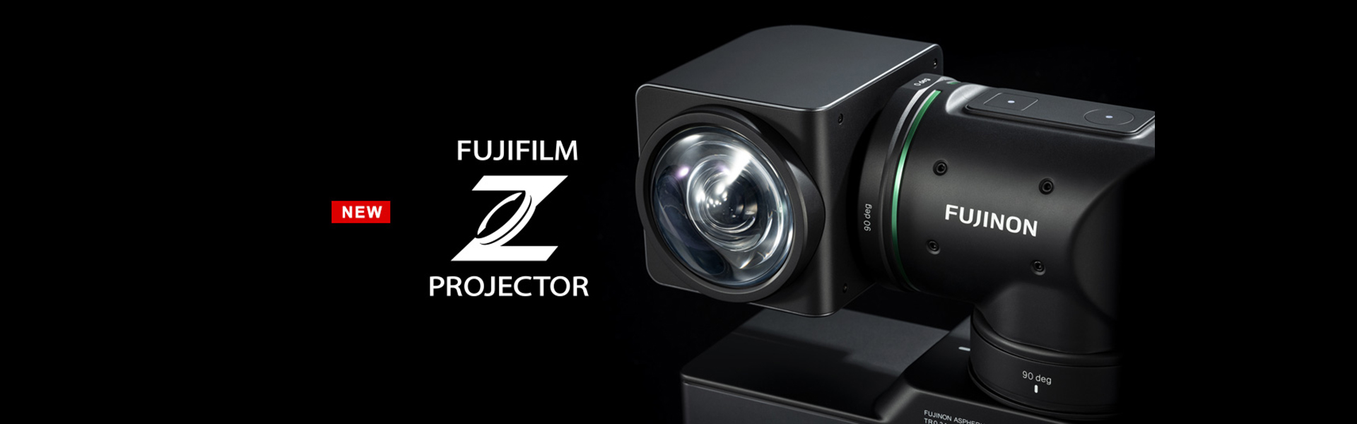 [photo] Fujifilm Z Projector FP-Z5000 in front of black background