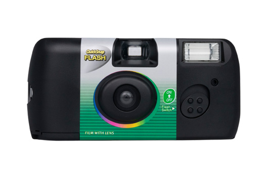 [photo] QuickSnap FLASH Superia X-TRA 400 camera in black
