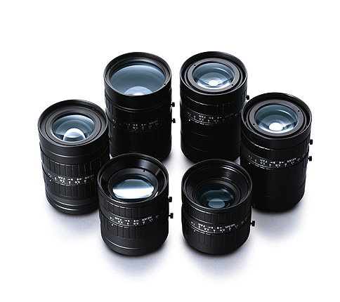 [photo] CF-HA Series lenses standing upright and grouped together in a circle