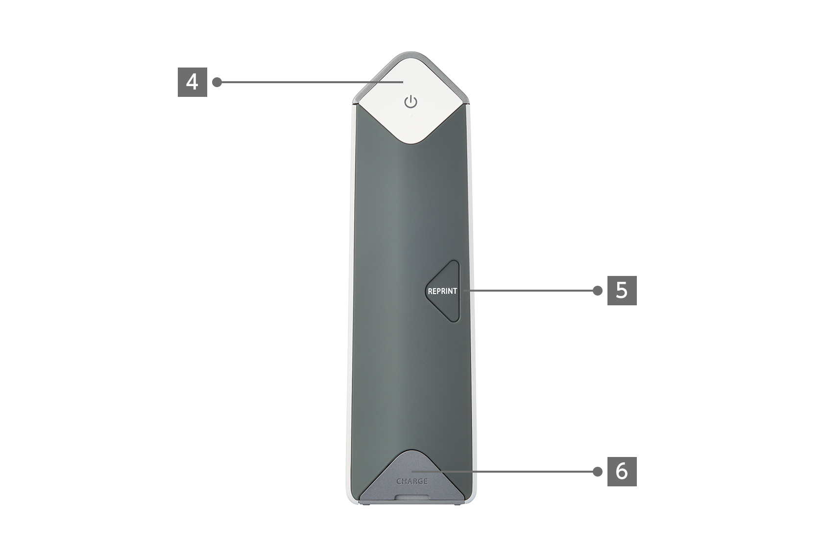 Silver SP-2 Printer side view