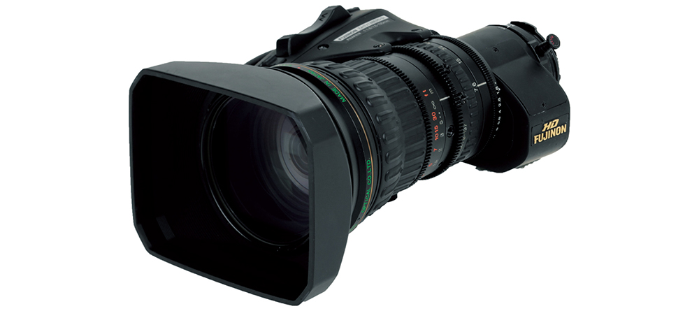 [photo] 2/3 inch HD ENG lens model HA18×7.6BERM / BERD