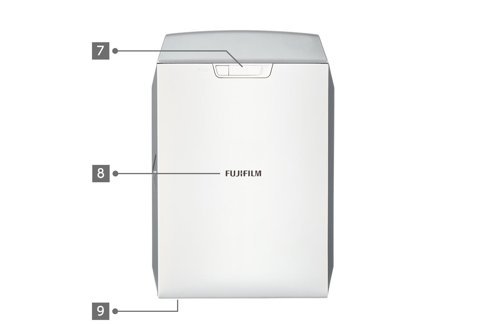 Silver SP-2 Printer back view