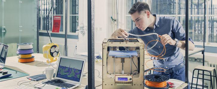 Repairing a 3D Printer Banner