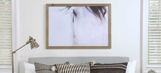 Wall Decor Example of Framed Print