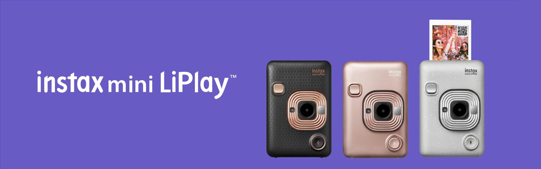 Purple Hero image with three LiPlay Mini cameras