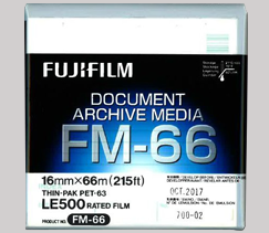 Archive Media Product FM-66 Display