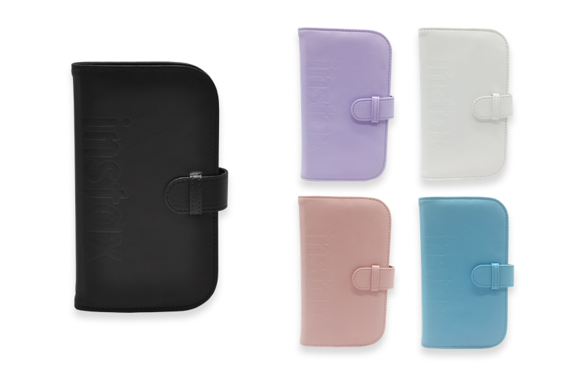 Mini Wallet Albums in different colors