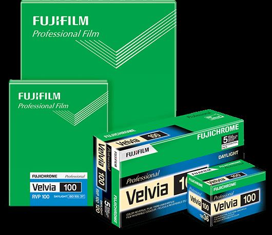 Velvia 100 product view