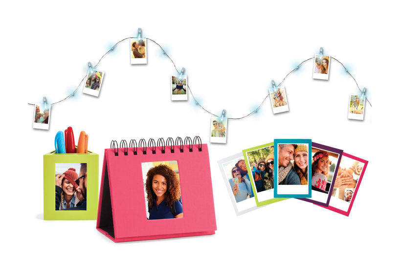 All 7 piece of INSTAX Your Space kit