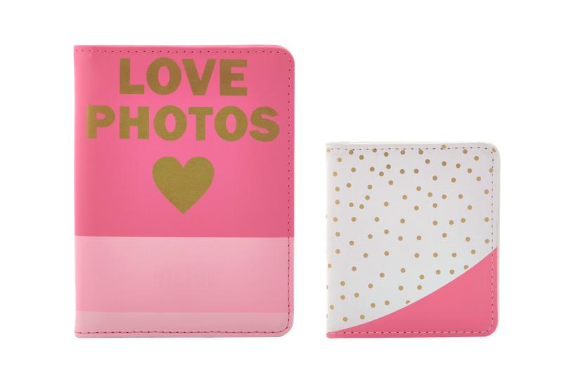 Pink Love Mini Photo Albums