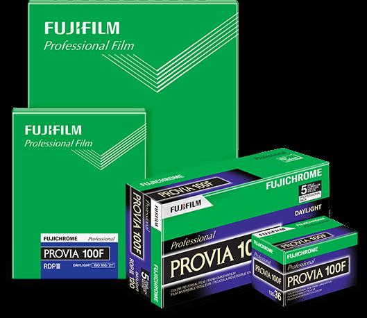 Provia 100f Product view