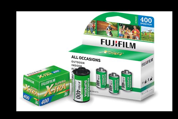 SUPERIA X-TRA 400 Film box