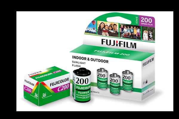 FujiColor C-200 box film