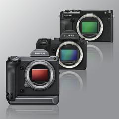 Three GFX Camera