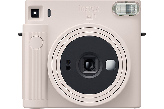 [photo] INSTAX SQUARE SQ1 camera in Chalk White color