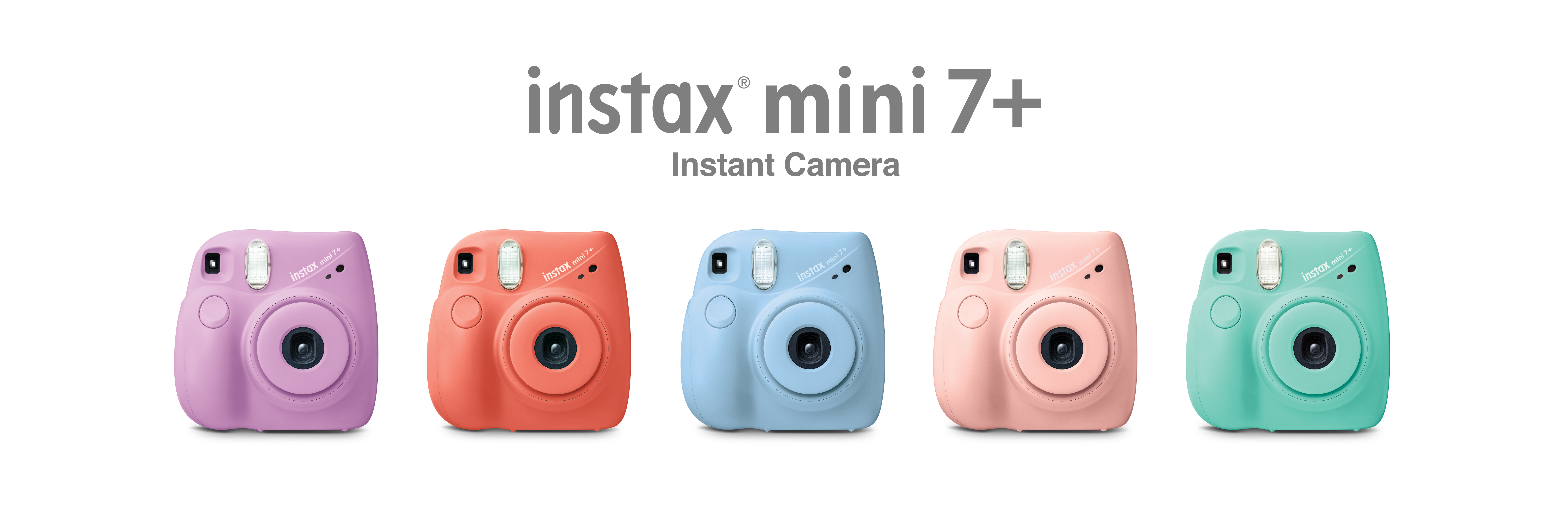 Hero image with mini 7plus cameras in different colors