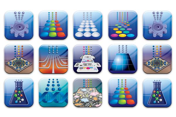Market Segments Icon Image