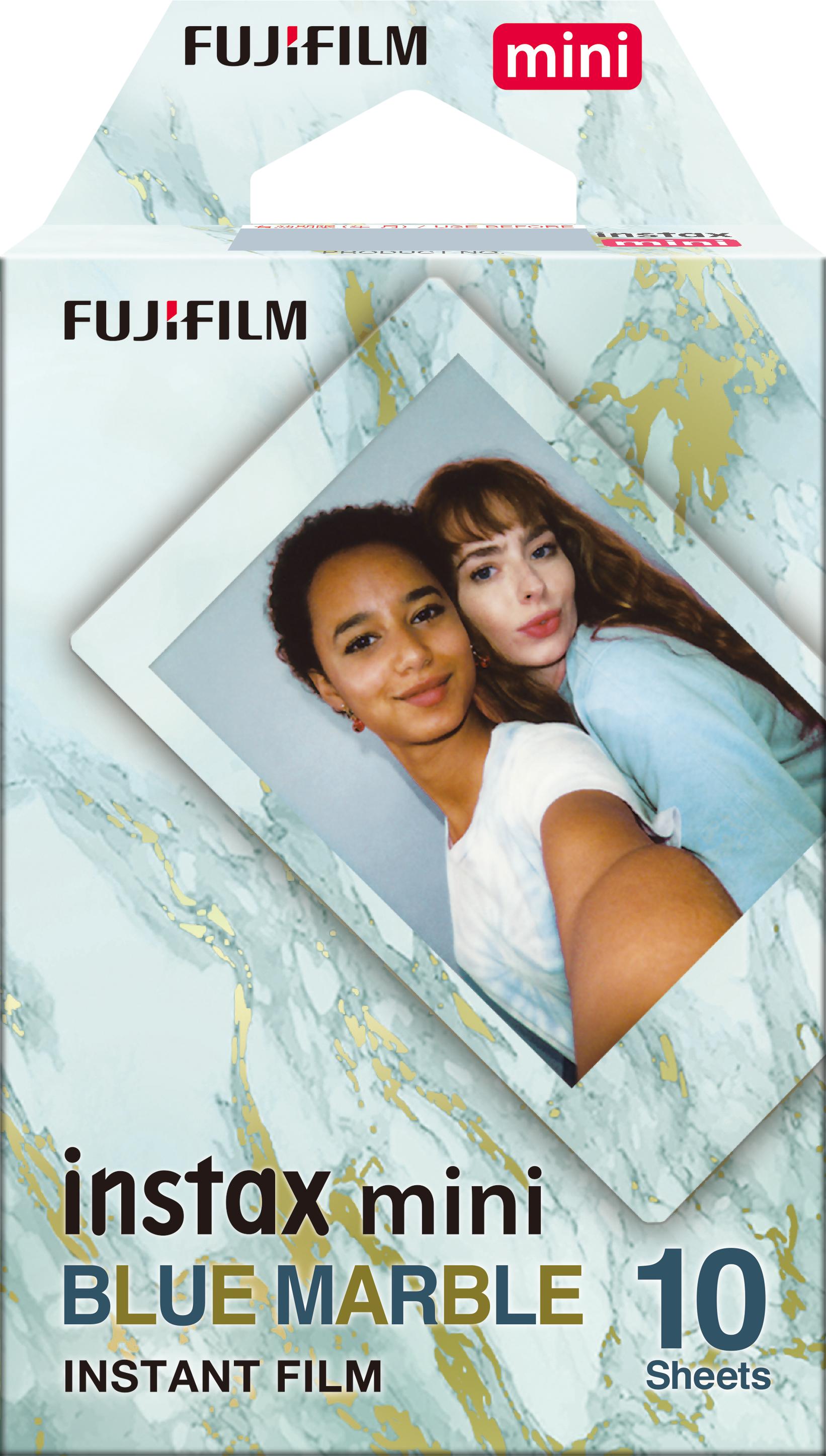 INSTAX Mini Blue Marble Film box