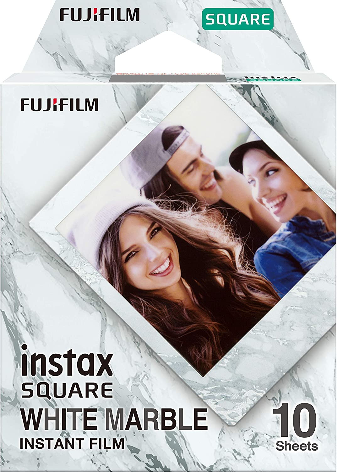 INSTAX SQUARE White Marble Box