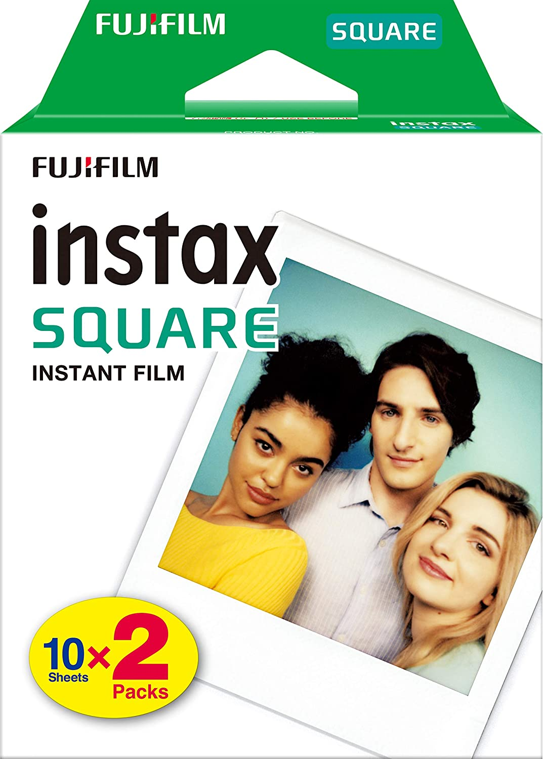 INSTAX SQUARE White 2-Pack box