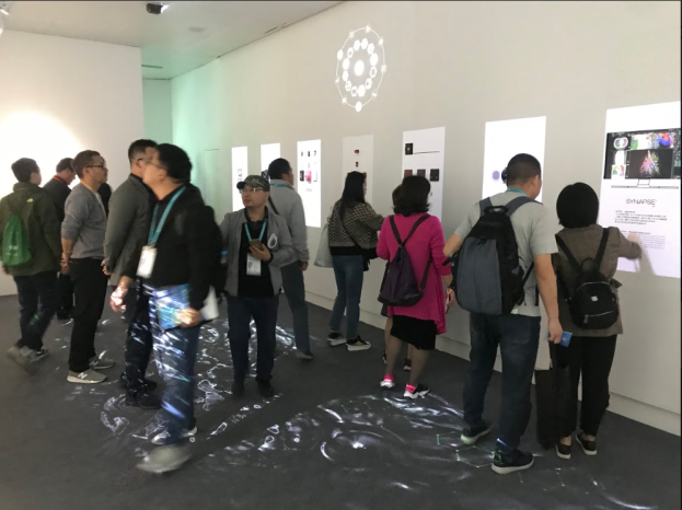 [photo] State of the exhibition booth