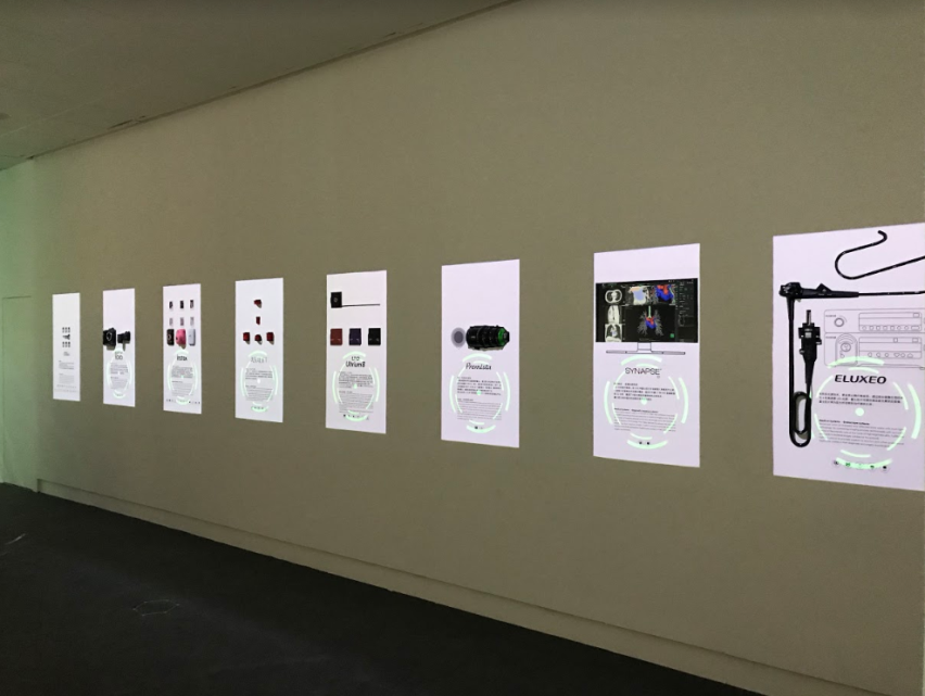 [photo] Hands-on projection mapping that uses motion sensors