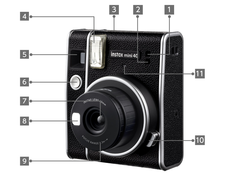 INSTAX® Mini 40 Front View Image