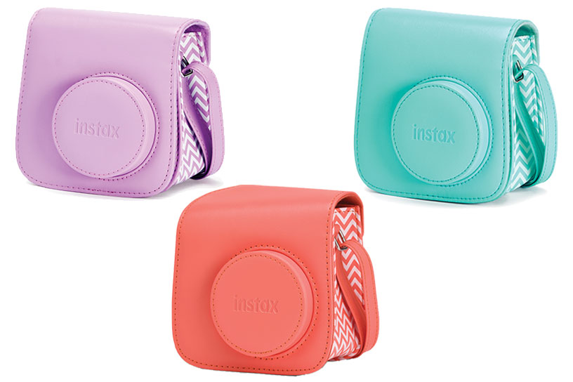 Pink and teal and orange Mini 7plus Camera Case