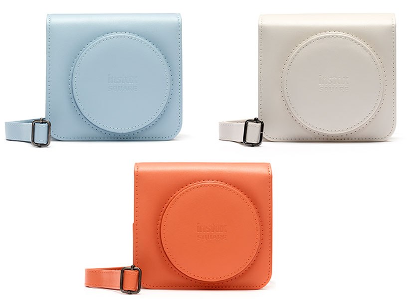 SQ1 Cases in Blue Gold and Orange