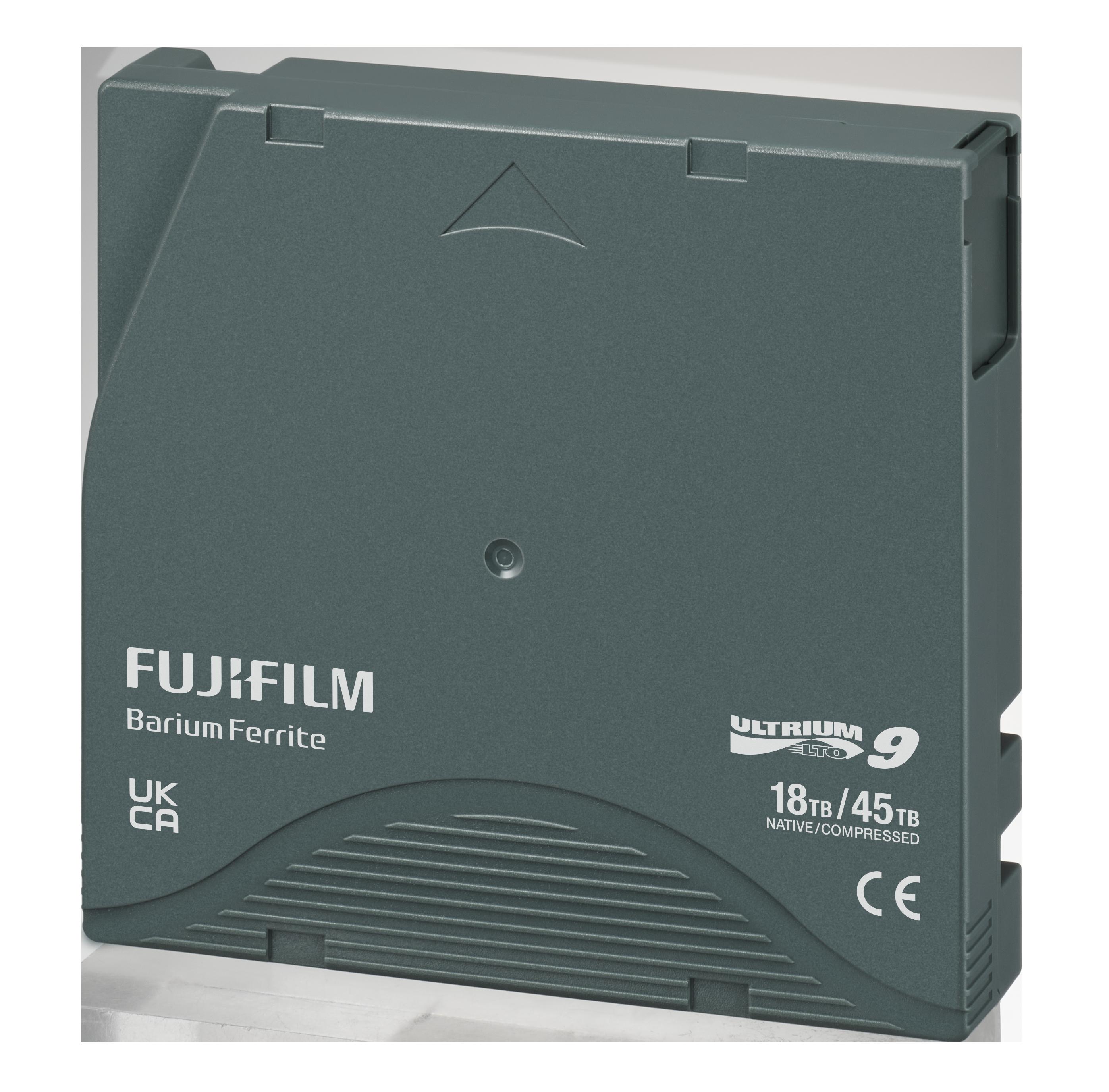 LTO Ultrium 9 Data Cartridge Back View
