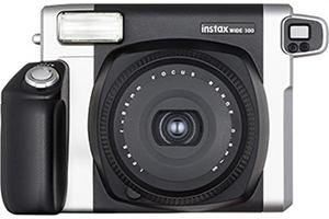 [photo] Instax WIDE 300 in black with a white background
