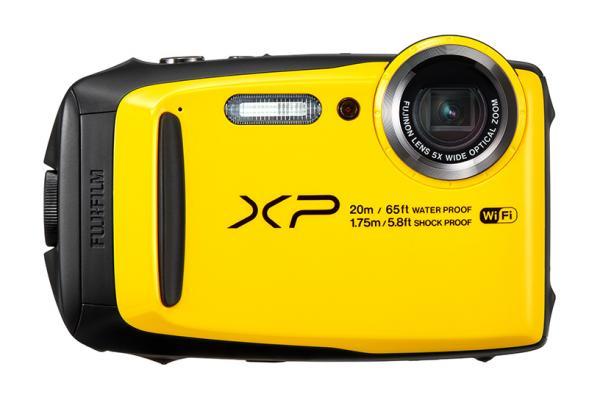 Image of yellow FinePix XP120 camera