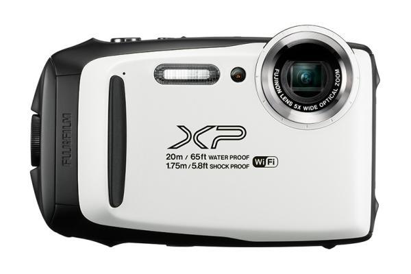 Image of a gray FinePix XP130 camera