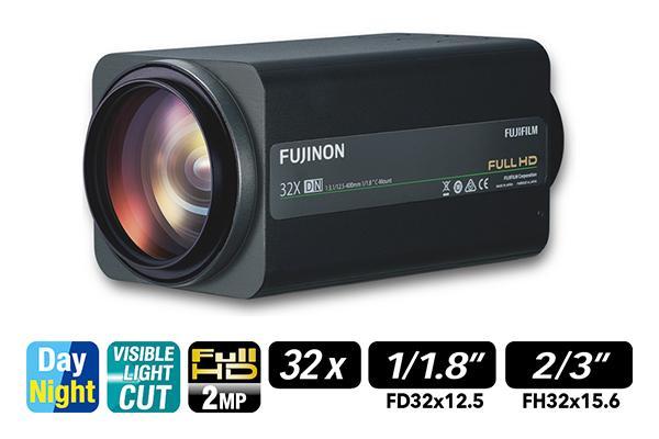 [photo] FD32x12.5SR4A-CV1 / FH32x15.6SR4A-CV1 zoom lens