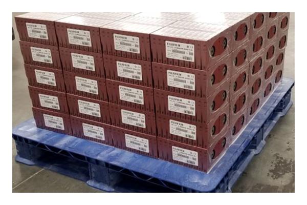 Pallet of FujiFilm Cartridges