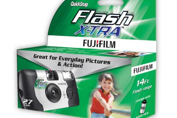 QuickSnap Camera box