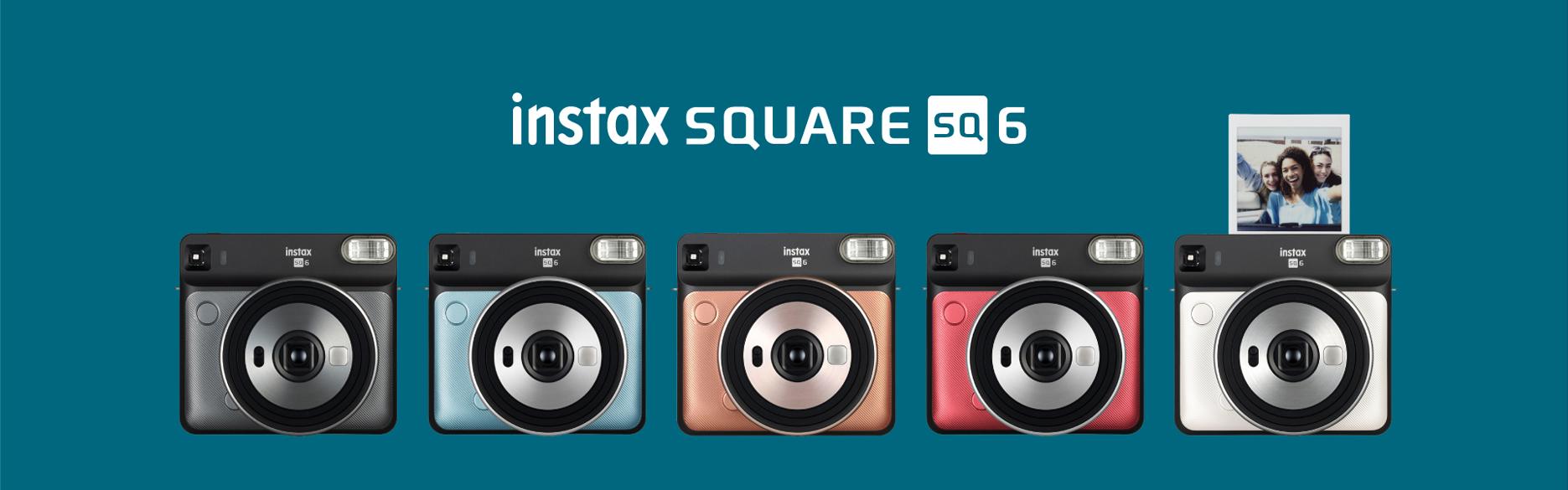 [image] instax SQUARE SQ6