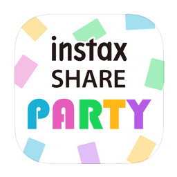 [logo] instax SHARE PARTY