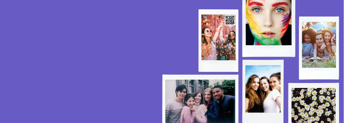 [photo] A collage of 6 different Instax films photo print outs