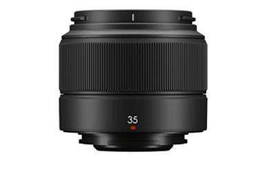 "[image]Interchangeable lens for X series digital cameras ""FUJINON Lens XC35mmF2"""