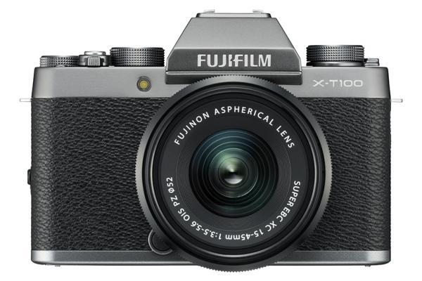 [photo] Fujifilm X-T100 System Digital Camera - Silver and black