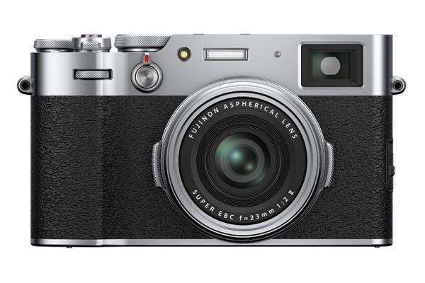 [photo] Fujifilm X100V System Digital Camera - Silver and black