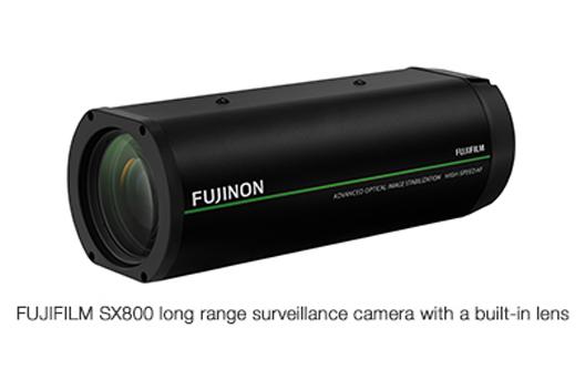 [Photo]FUJIFILM SX800 long range surveillance camera with a built-in lens