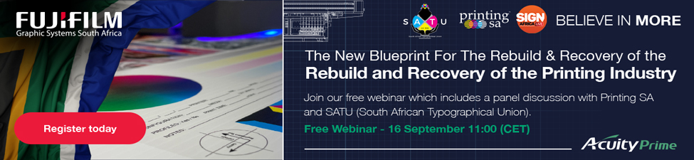 The New Blueprint For The Rebuild & Recovery of the Printing Industry - Join the free live event and the discussion